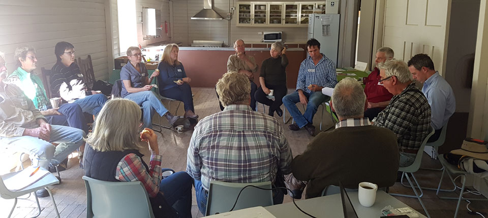 Upper Lachlan Landcare Grazing Group Spring Meeting